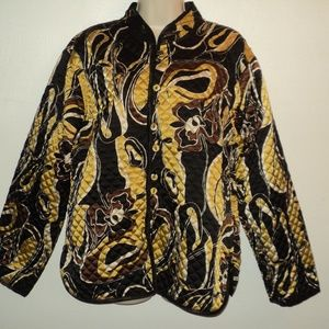 Sacred Threads Jackets & Coats - Sacred Threads L Reversible Quilted Light Jacket
